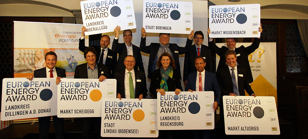 Verleihung des European Energy Award