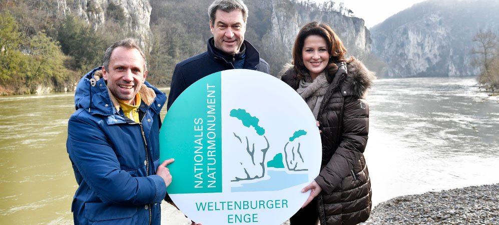 Nationales Naturmonument Weltenburger Enge