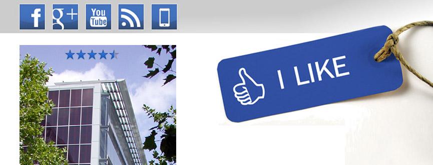 """Das Lebensministerium Bayern informiert auch über die sozialen Netzwerke Facebook und Google+. Wir freuen wir uns, mit Ihnen als """"Fan"""" oder """"in Ihrem Kreis"""" in Verbindung zu bleiben."""