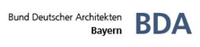 Logo Bund Deutscher Architekten BDA Landesverband Bayern